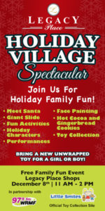 Legacy Place Holiday Village Spectacular